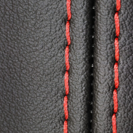 Back injection of decorative seam
